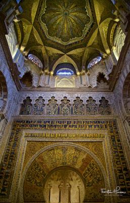Mihrab der Moschee