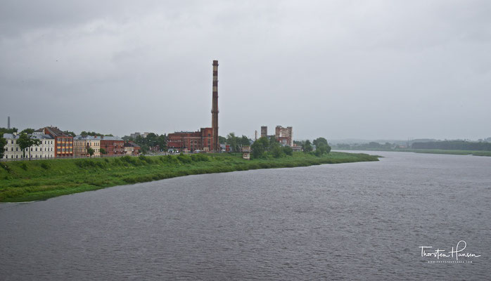 Daugavpils an der Düna