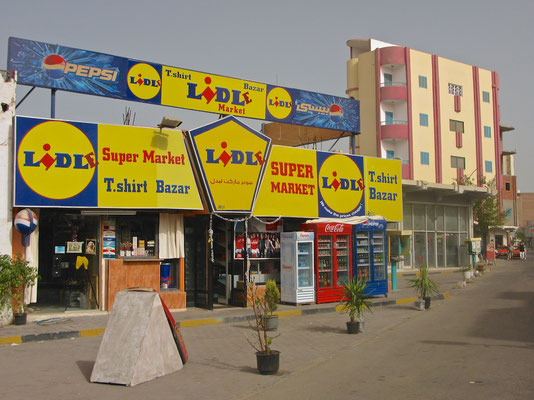 Lidle in Hurghada