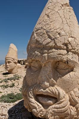 Apollon und Herakles Ost - Nemrut Dağı (Adıyaman) der Berg Nimrod