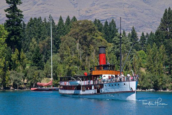 Dampfschiff T.S.S. Earnslaw