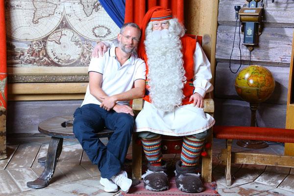 Ein Treffen mit dem Weihnachtsmann