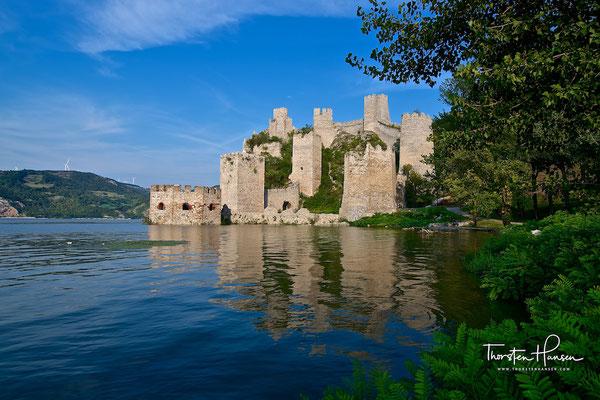 Burg Golubac an der Donau