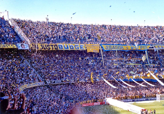 Estadio Alberto J. Armando in Buenos Aires