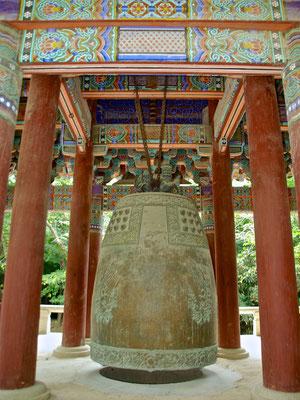 Glocke im Bulguksa Tempel in Gyeong-Ju