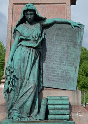 """Maamme (finnisch) oder Vårt land (schwedisch) (""""Unser Land"""") ist die Nationalhymne Finnlands"""