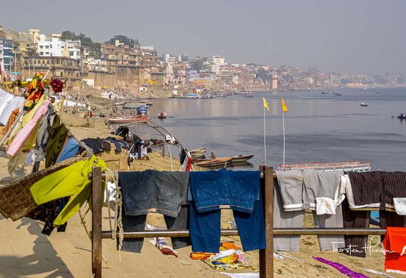 Varanasi ist eine der ältesten Städte Indiens und der ganzen Welt und gilt als heiligste Stadt des Hinduismus.