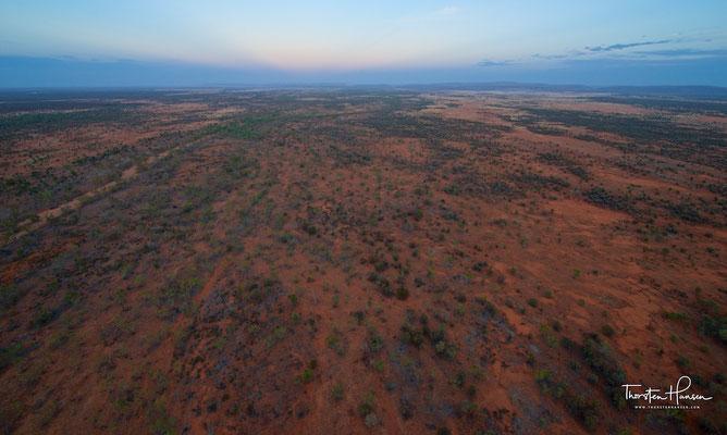 Ballon Fahrt in Alice Springs