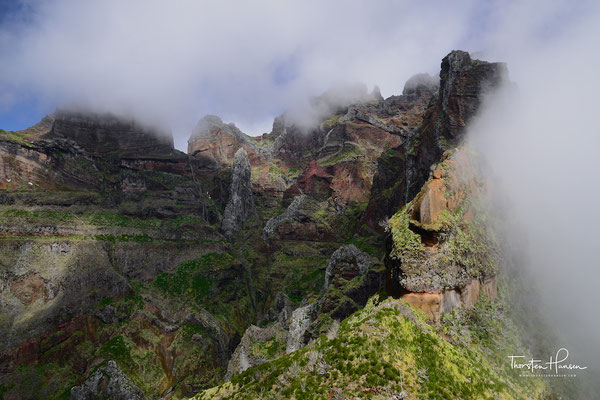 Panorama des Pico do Arieiro