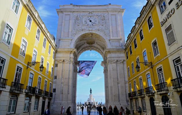 Baixa von Lissabon