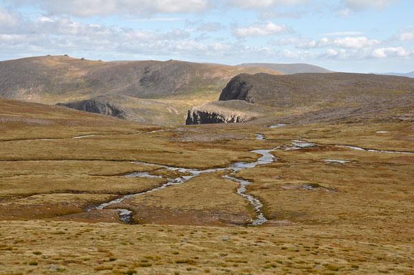 Besteigung des Ben Macdui in den Cairngorm Mountains NP