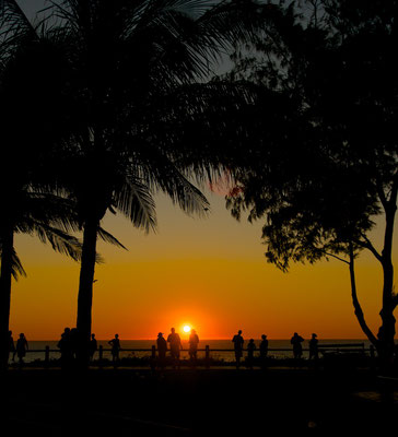 Sonnenuntergang über dem Cable Beach