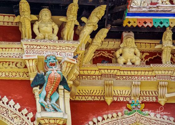 Dennoch gehört er zu den bedeutendsten Beispielen für die südindische Palastarchitektur.
