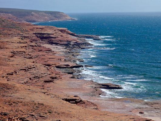 Küste im Kalbarri-Nationalpark