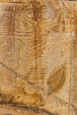 Hier befindet sich auch eine prähistorische Felszeichnung, die heute unter Denkmalschutz steht.