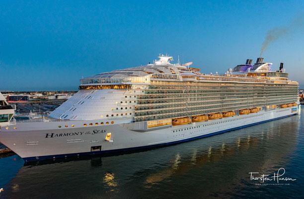 Das Schiff wurde am 12. Mai 2016 an die Reederei übergeben. Es handelt sich um ein geringfügig vergrößertes Schwesterschiff der Oasis of the Seas und der Allure of the Seas.