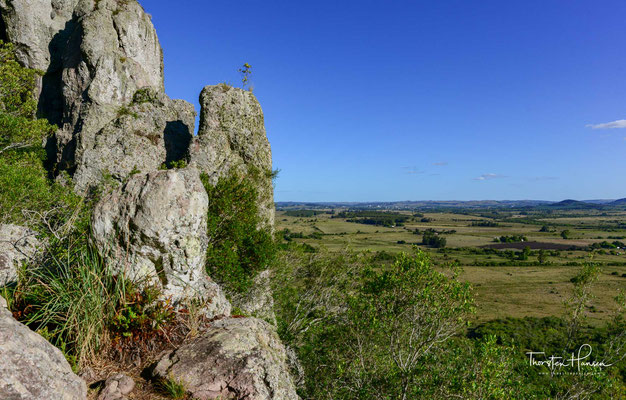 Blick vom Monte de Ombues