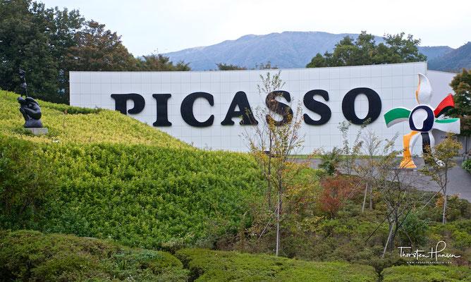 Picasso im Hakone-Open-Air-Museum, 彫刻の森美術館 - Kunstmuseum Wald der Skulpturen