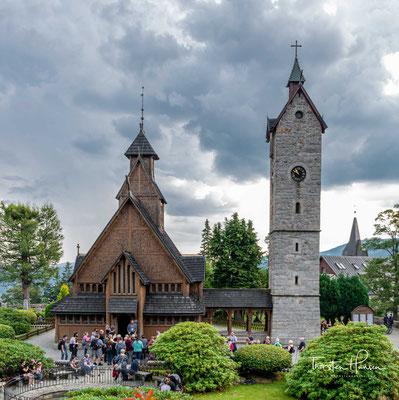 Die Stabkirche Wang ist eine mittelalterliche norwegische Stabholzkirche, gebaut im Ort Vang in Norwegen.