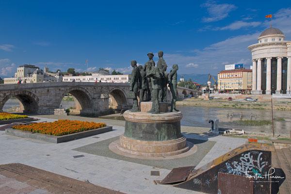 Mazedonisches archäologisches Museum in Skopje