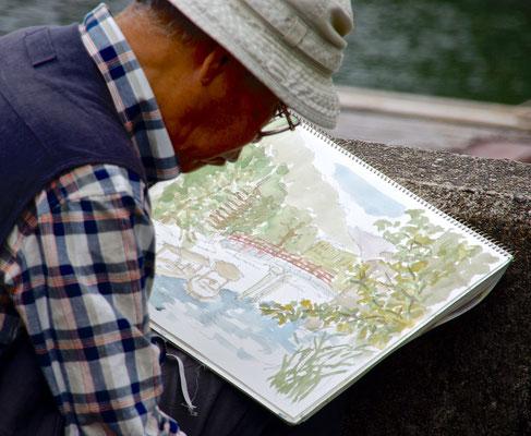Maler in Uji