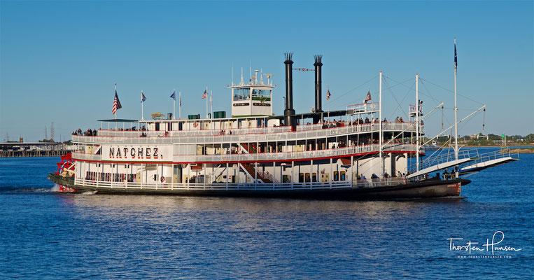 Dampfschiff Sanchez auf dem Mississippi