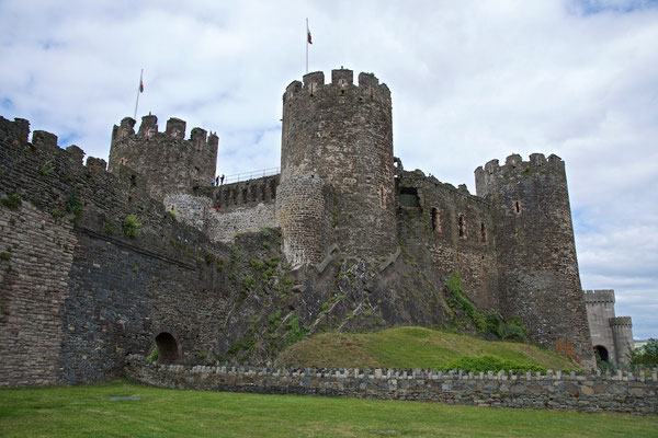 Conwy mit Conwy Castle