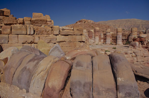 Temple of the Winged Lions in Petra