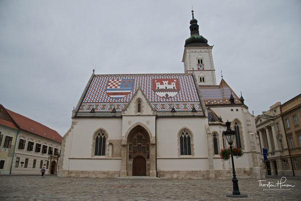 St.-Markus-Kirche in Zagreb