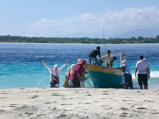 Gili Meno ist die mittlere der drei Inseln der Gili-Inselkette