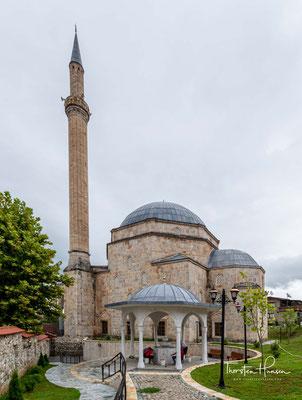 Ihre Bauzeit wird meist zwischen 1600 (od. 1608) und 1615 datiert. Für die Mauern wurden Werksteine und der plastische Schmuck der zerstörten Erzengelkirche benutzt.