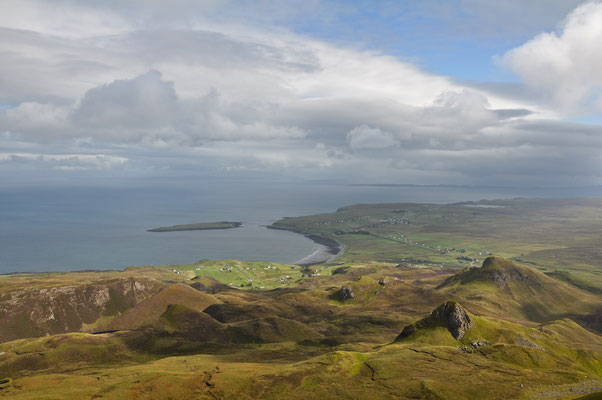 Schönste Wanderung auf Skye - Quiraing