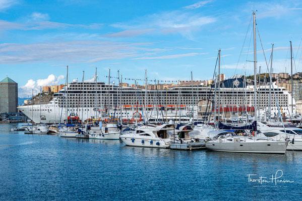 2021 soll das Schiff für 130 Millionen Euro um 23 Meter verlängert werden und dabei 215 neue Kabinen und ein verbessertes Abgassystem erhalten.
