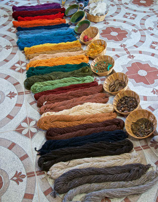 Teppichproduktion in Oaxaca