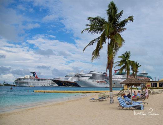 Mit der Aida in der Karibik - Nassau Bahamas
