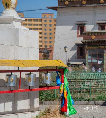 Heute leben wieder über 600 Mönche im Kloster.