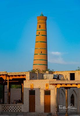 m 10. Jahrhundert war Xiva bereits eine bedeutende Handelsstadt in Choresm. Der arabische Reisende und Geograph al-Maqdisī, der das Land im gleichen Jahrhundert bereiste, schrieb: