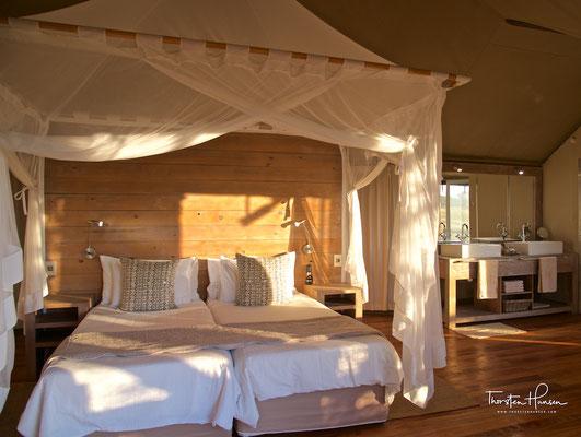 Traumhafte Nambwa Tented Lodge