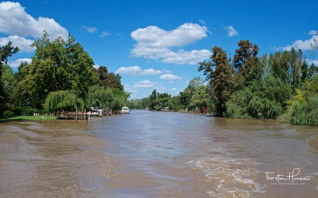 Tigre liegt im Norden des Ballungsraums Buenos Aires (Gran Buenos Aires) im Delta des Paraná Flusses