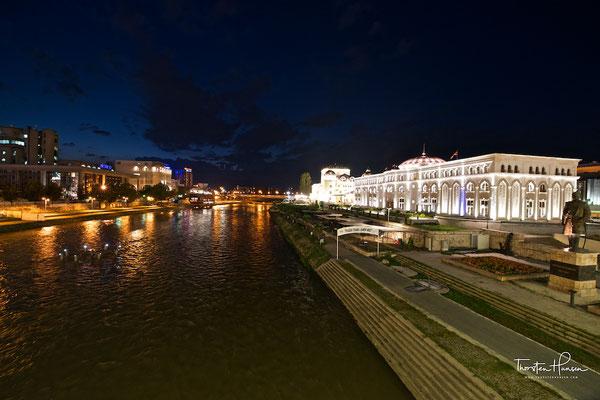 Skopje an der Vardar
