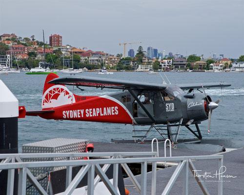 Mit dem Wasserflugzeug über Sydney