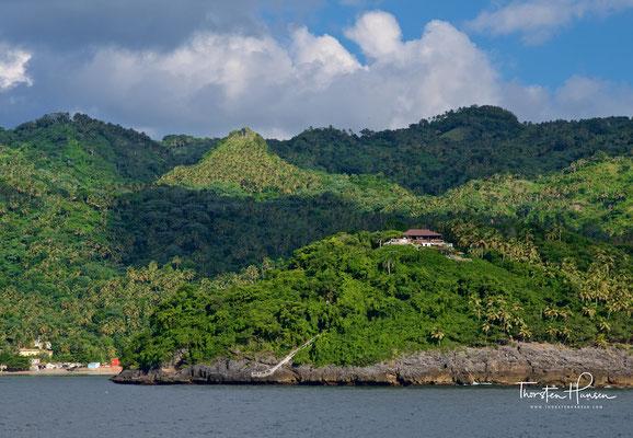 Blick auf die Halbinsel Samaná in der Dominikanischen Republik