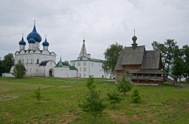 Panorama des Susdaler Kremls