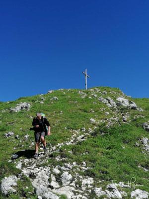 Aufstieg zum Vorderen Kirchstein (1670m)