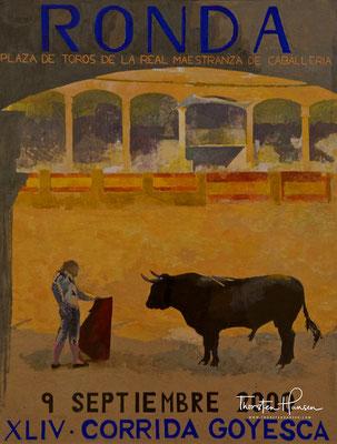 Stierkampf Plakat