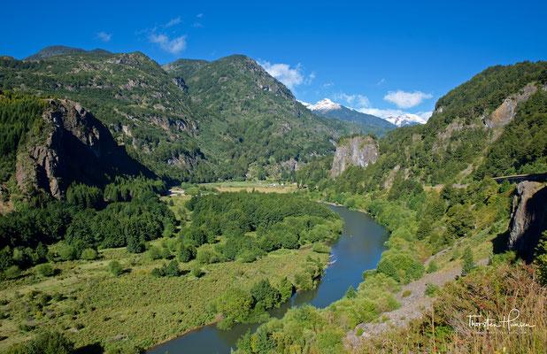 Blick in das Tal des Rio Simpson