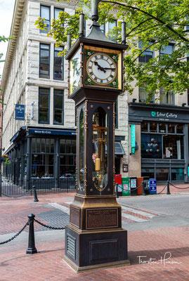 """Gastown ist ein historischer Stadtteil im Zentrum Vancouvers. Der Name stammt vom britischen Siedler John """"Gassy Jack"""" Deighton, der hier 1867 das erste Lokal eröffnete."""