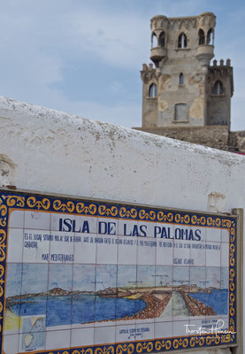 Tarifa liegt ist die am südlichsten gelegene Stadt des europäischen Festlands