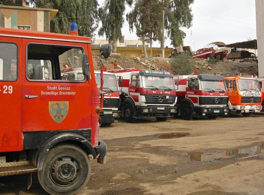 Feuerwehr in Raqqa