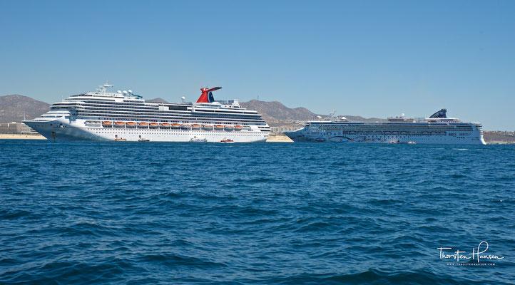 Die Norwegian Star und die Carnival Splendor in Cabo San Lucas